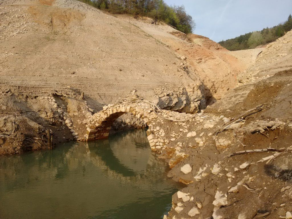 Lago di Santa Giustina: Ponte della Mula